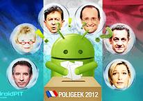 Poligeek 2012 : Quelle application pour quel candidat ?