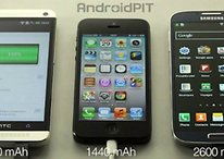 HTC One vs Galaxy S4 vs iPhone 5: test della batteria