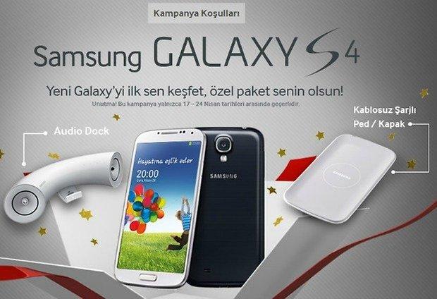 GalaxyS4 Kampanya