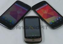 Evolución de Nexus - HTC Nexus One, Samsung Galaxy Nexus y LG Nexus 4