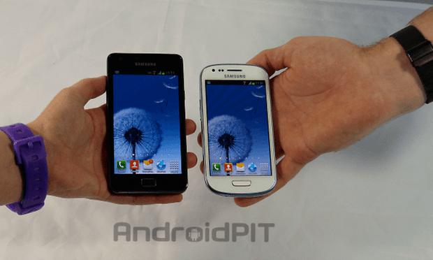 Galaxy S2 Galaxy S3 Mini1