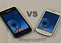 Comparatif : Samsung Galaxy S3 Mini - Samsung Galaxy S2