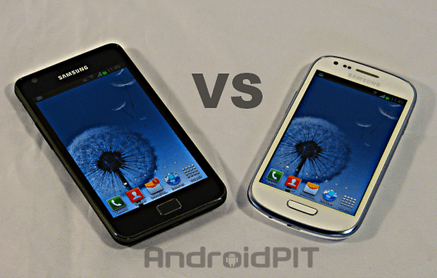 confronto galaxy s2 s3 mini