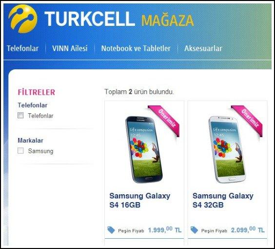 Turkcell S4