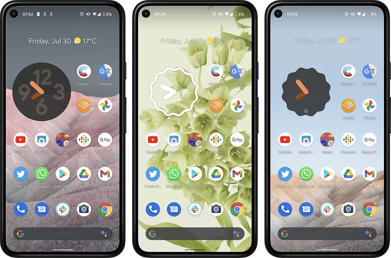 Android 12-Hintergrundbild