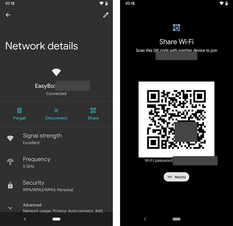 Android 12 nearby wifi