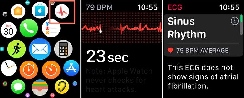 Frecuencia cardíaca del Apple Watch