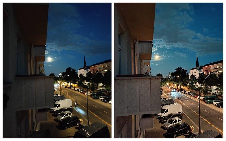 OnePlus Nord CE Night mode