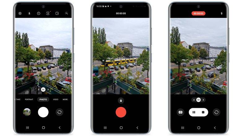 Samsung OneUI 40 Camera