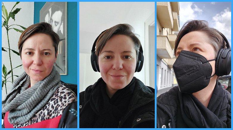 Samsung Galaxy A72 review selfie
