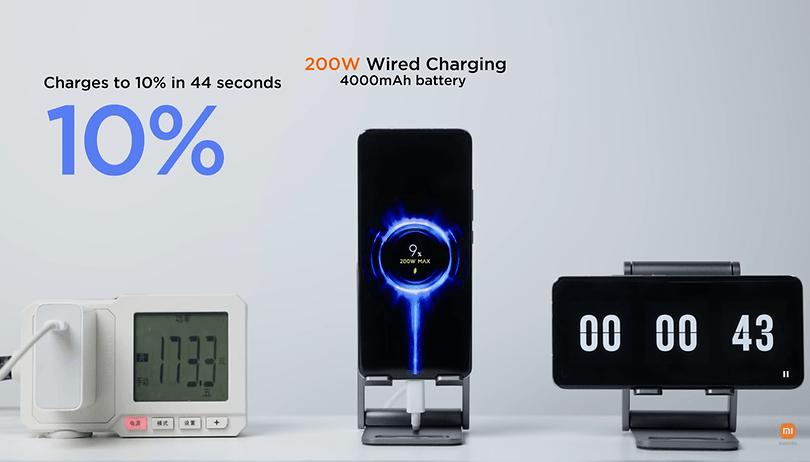 100% Akku in 8 Minuten: Xiaomi bringt Quick-Charging auf nächste Stufe