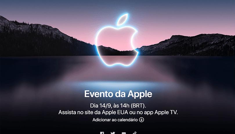 Apple anuncia evento em setembro: o iPhone 13 está chegando!