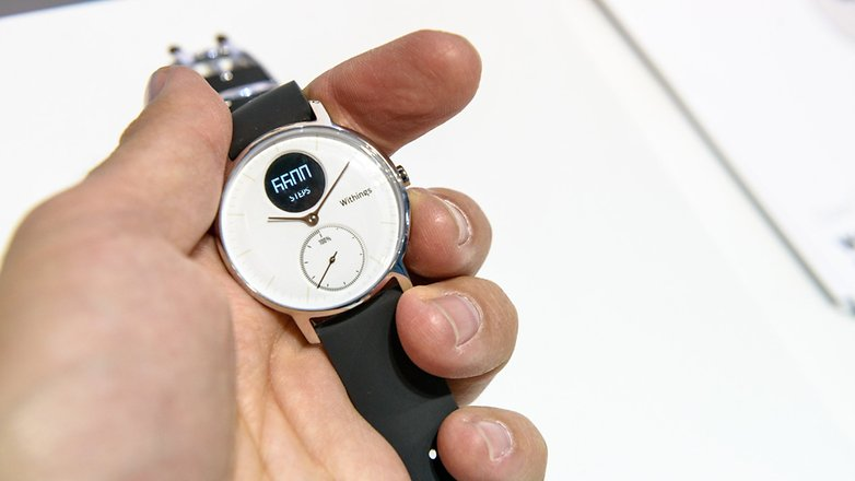 AndroidPIT IFA 2016 withings smartwatch 2073