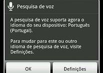 Google Voice Search agora em Português, porque digitar é tão 2011!