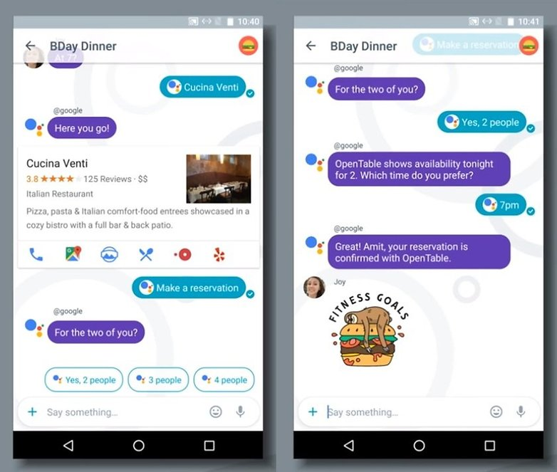 Allo google assistant 2