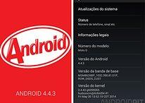Moto G recebe KitKat 4.4.3 no Brasil