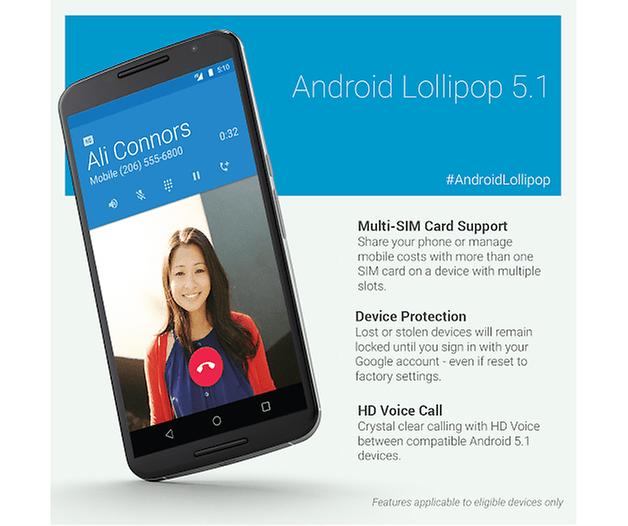 Android 5 1 lollipop mudancas