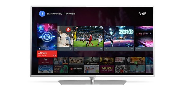 serie 6700 philips android TV