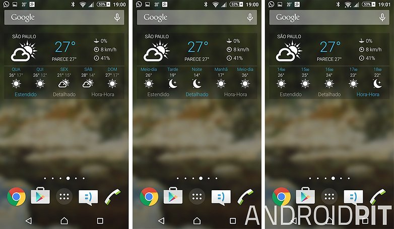 1weather widget android