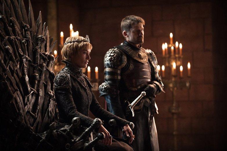 Cersei Lannister Lena Headey e Jaime Lannister Nikolaj Coster Waldau GoT S7