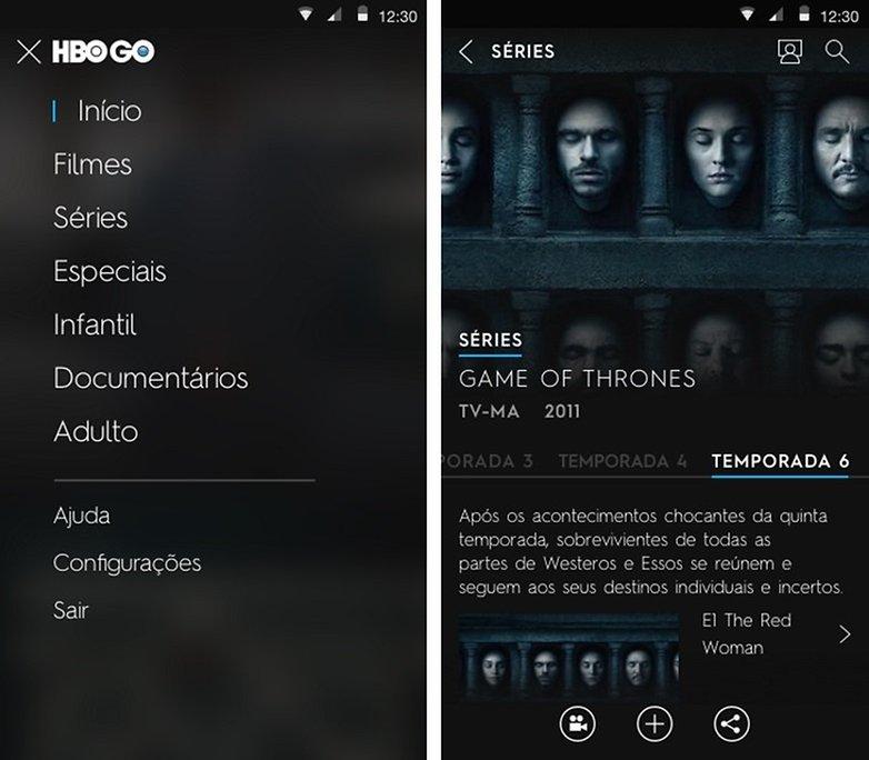 GOT 7 HBO GO Brasil