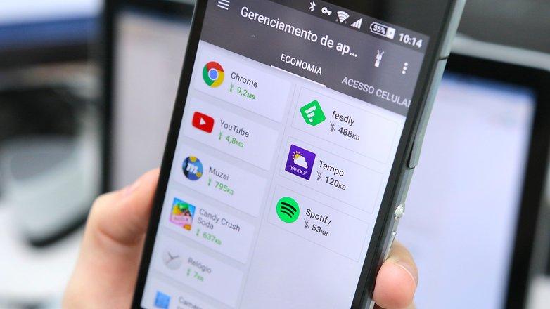 Opera Max teste bloqueio apps