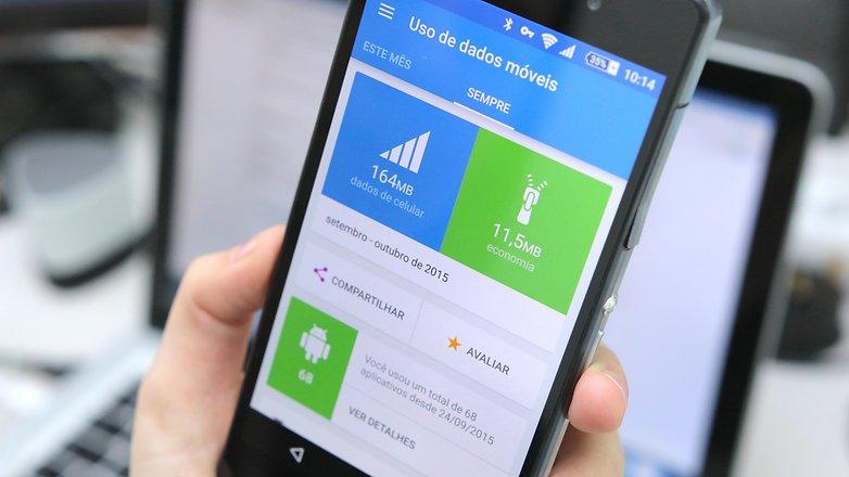 Opera Max teste economia dados