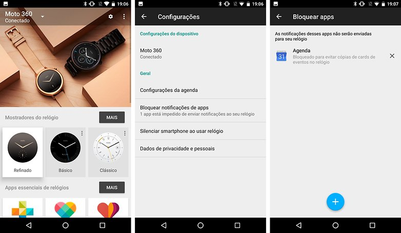 android wear smartwatch dicas truques