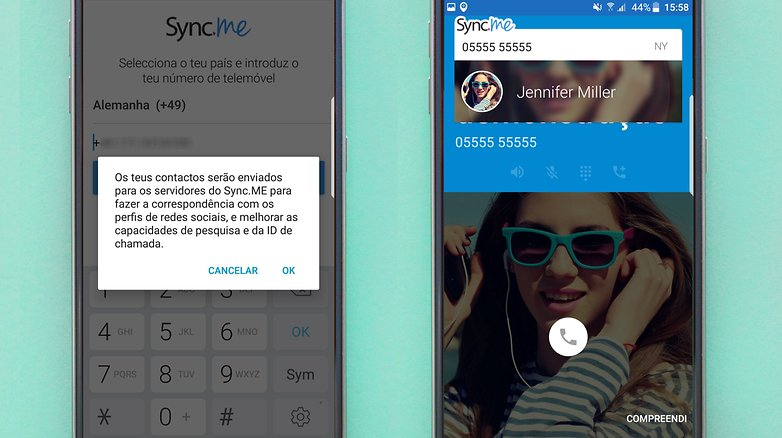 sinc contatos app