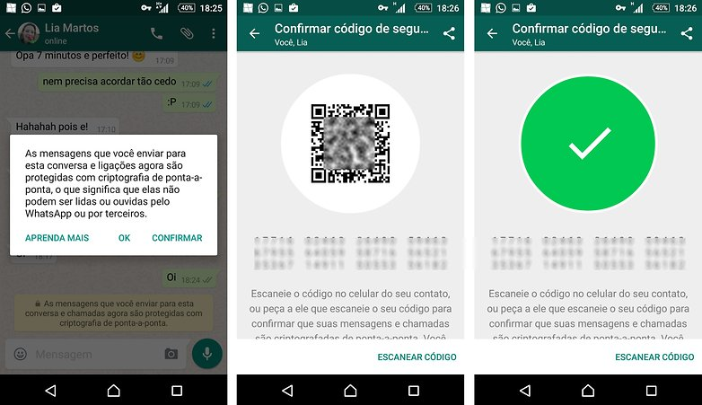 whatsapp update criptografia 0