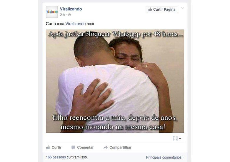 whatsapp viralizando