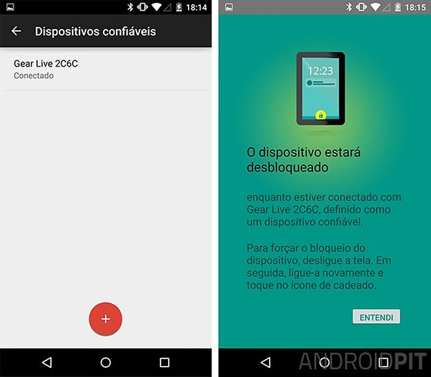 Android lollipop smart lock