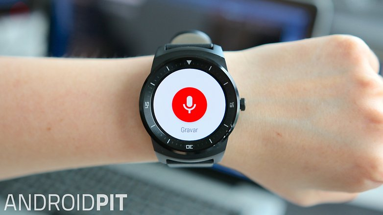 Android wear gravador de audio