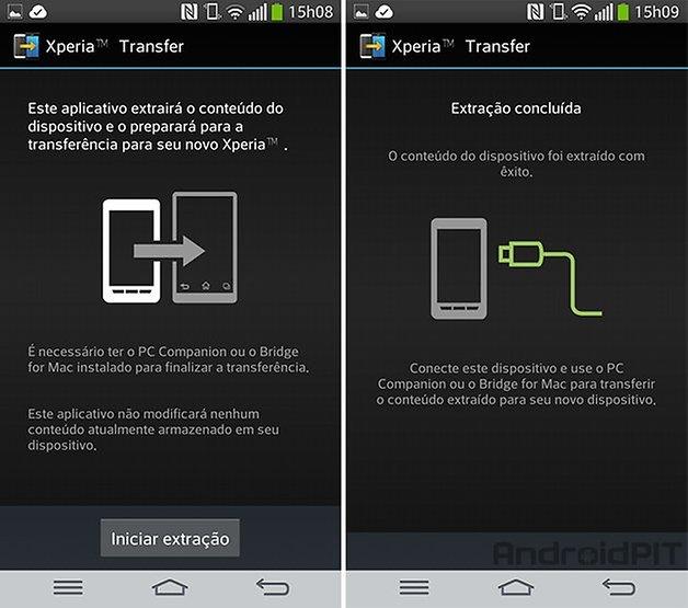 App xperia transfer app
