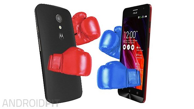 Asus zenfone Moto G 2