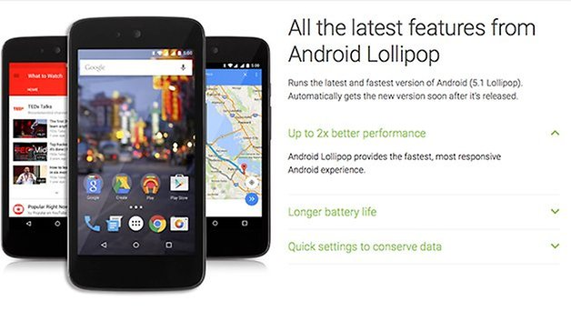 Android 5 1 android one