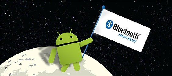 Android bluetooth smart ready