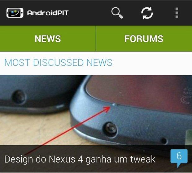 AndroidPIT novo app