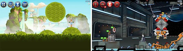 Angry birds star wars 2 fases