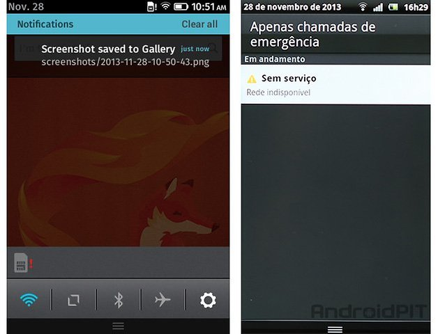 Firefox os gingerbread 2 3 notificacoes