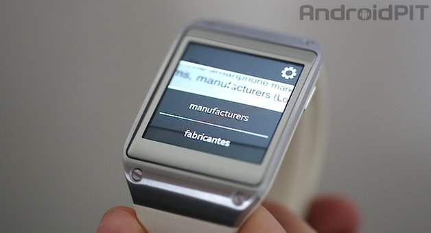Galaxy Gear tradutor