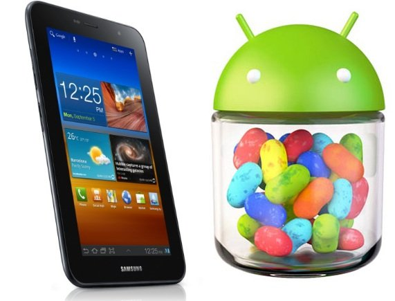Galaxy tab 7 0 plus jelly bean