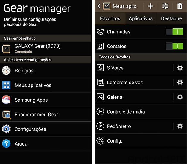 Gear apps Samsung