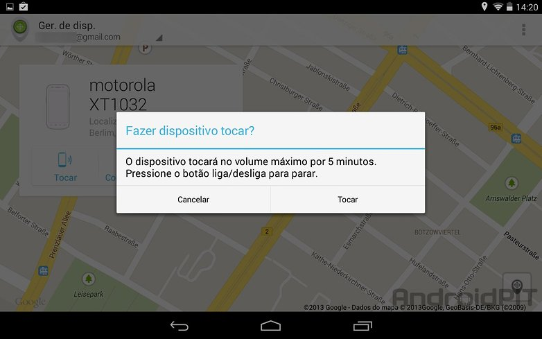 Gerenciador dispositivos android app play store