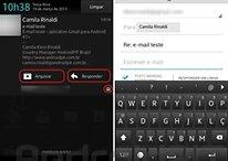 Depois do update, Gmail oferece opção de resposta na barra de notificações