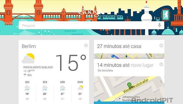 Novos cartões no Google Now: Cartões de TV e Ofertas da Google