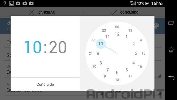 Google agenda horario