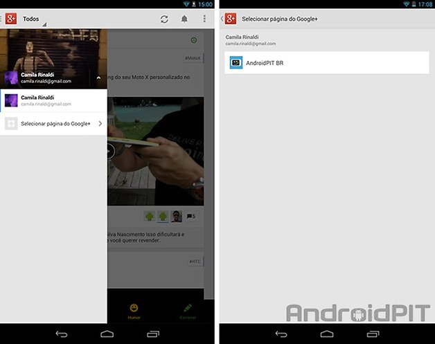 Google plus atualizacao versao 4 1