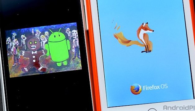 Android Gingerbread vs Firefox OS