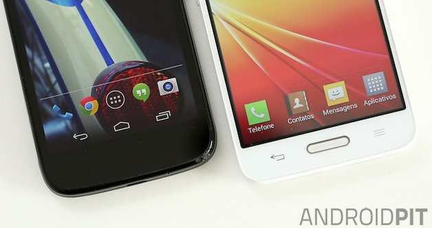 Moto G L 70 comparacao botoes